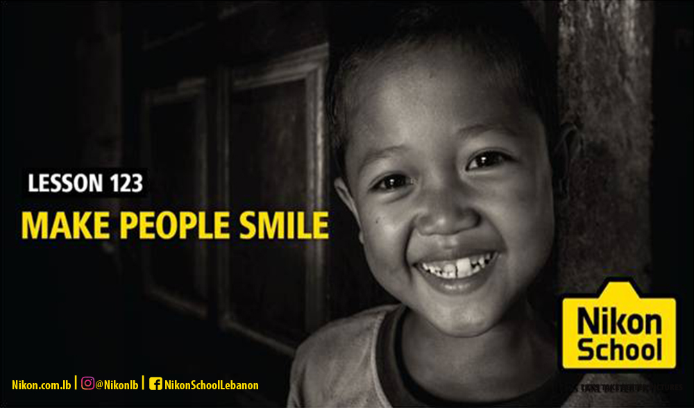 Make People Smile #LetsTakeBetterPictures