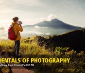 Fundamentals of Photography - Evening Sessions