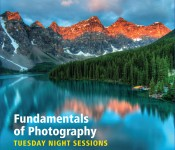 Fundamentals of Photography - Tuesday Evening Sessions